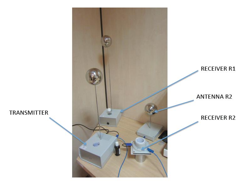 foto del aparato SWH de transmision de onda descalar del Prof. Dr. Ing K. Meyl
